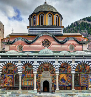 Rila-monastery-Inside-the-walls